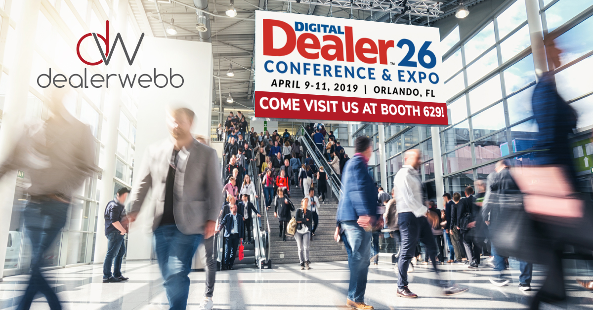 Dealerwebb Will Be at Digital Dealer, Teaching Dealers How to Maximize Conversions