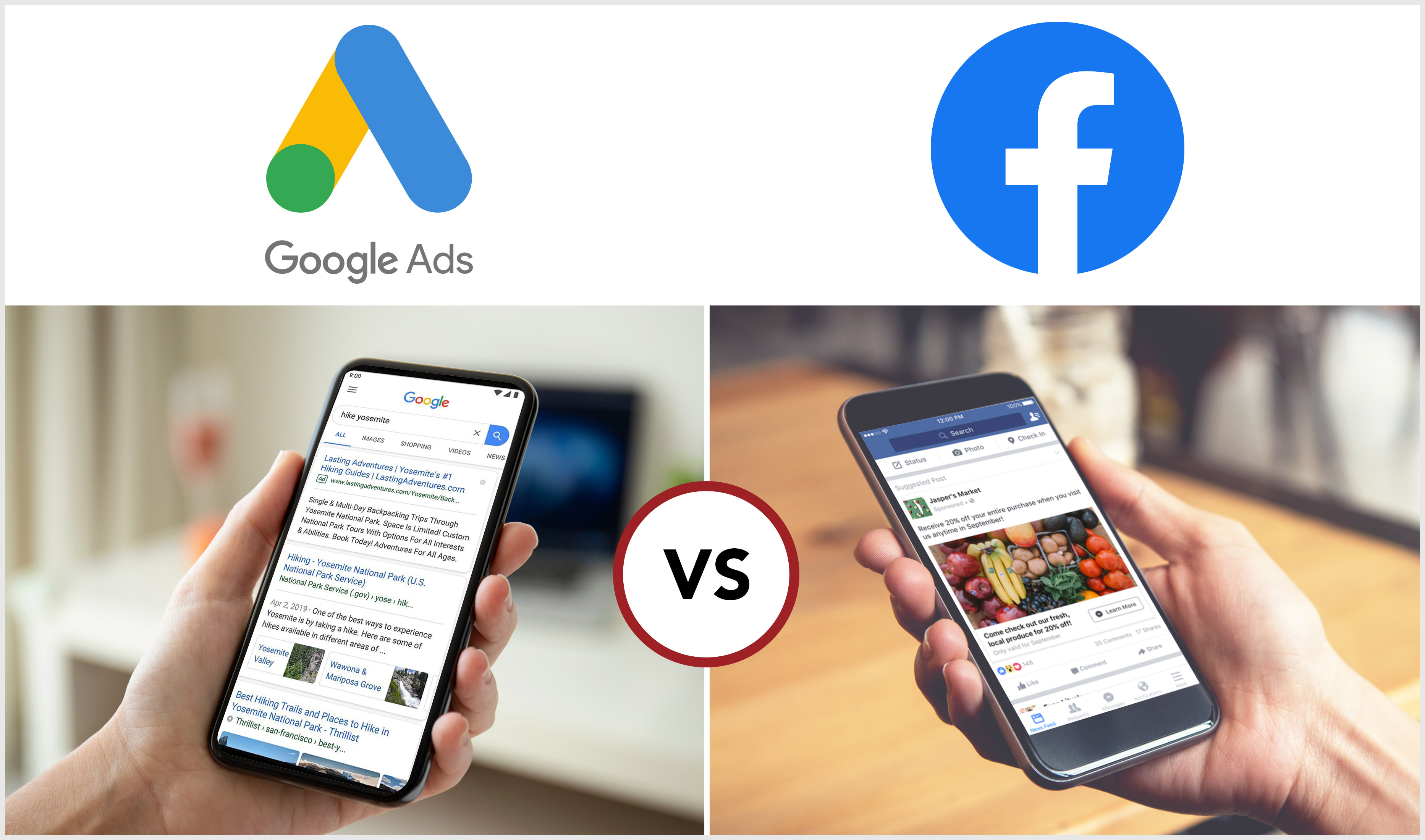 The Choice Between Search Ads or Social Ads